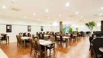 1Fにはレストラン「RIKYU」。全席88席。