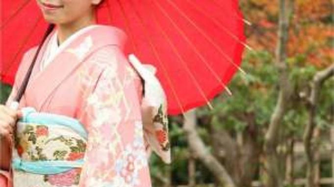 【金沢女子旅】あぶらとり紙プレゼント!きもの着付け&お抹茶&お琴♪金沢手習い体験付プラン〇素泊り