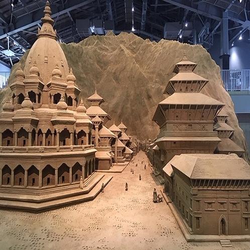 ♦砂の美術館