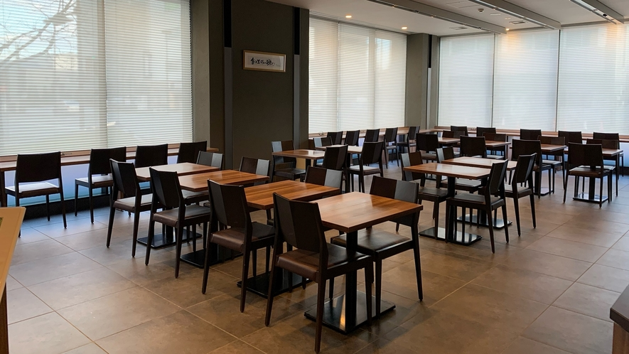 ◆朝食レストラン-HATAGO- 座席数40席