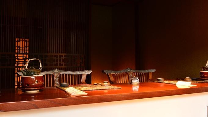 【鮨♪厳選したネタをお客様の前で握ります!】露天風呂付客室♪