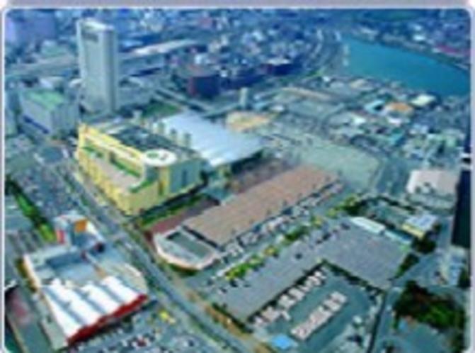 西日本総合展示場(北九州を代表とするイベント会場)