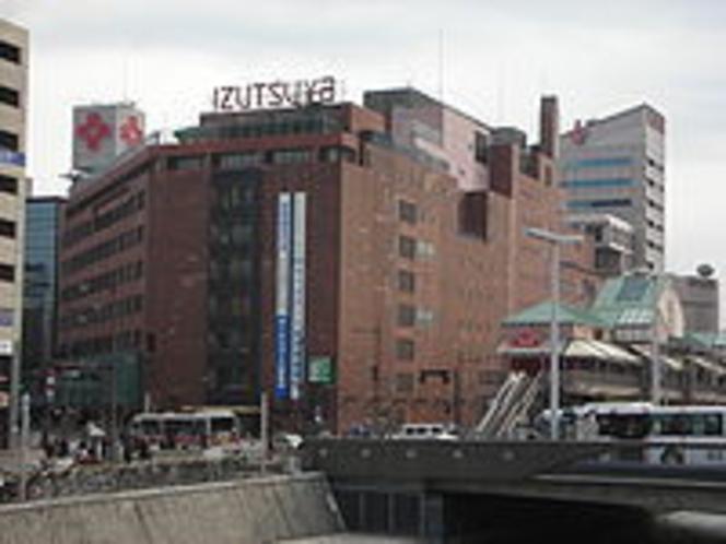 井筒屋本店(北九州を代表とする老舗デパート)