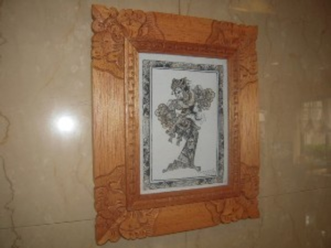 バリ島の踊り子