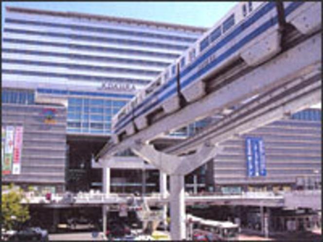 ①小倉駅からの道案内→※南口モノレール沿いへ