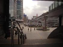 ②小倉駅南口→※左側にコレットが見えます
