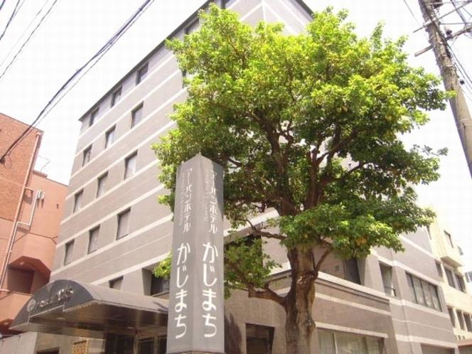 アーバンホテルかじまち緑の樹木は都心のオアシス