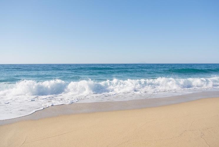 安らぎの浜辺の波音(客室BGM)