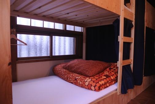 【貸切】ドミトリーのお部屋/2段ベッド