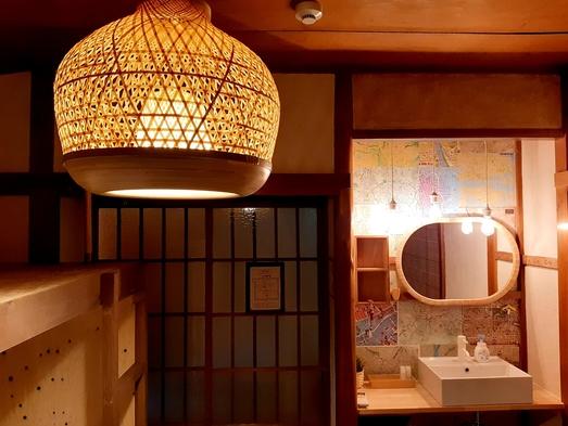 ゆったりした広さの洗面付きファミリールーム/5名様までの個室