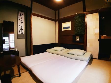 【個室】茶室のような雰囲気のレトロな和室