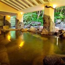 【瑞穂の湯◆露天岩風呂】