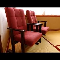 客室に置いてある椅子