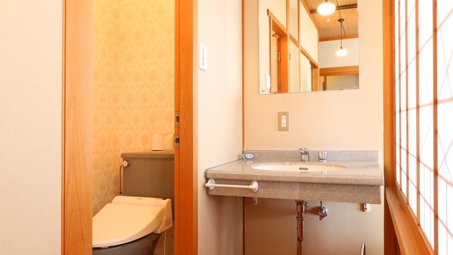 客室洗面所・トイレ