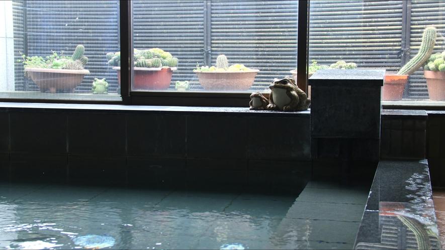 天然温泉風呂(2)