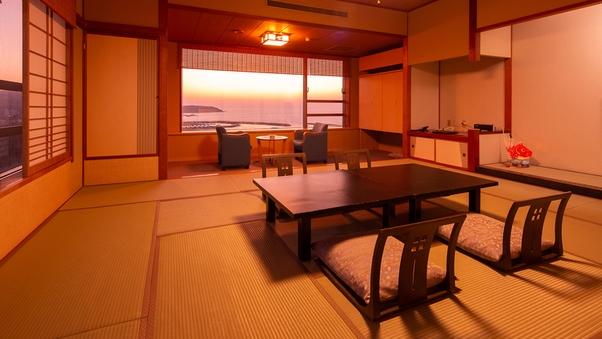 ◆和室スタンダード◆1名利用◆ 日本海を一望 和室【禁煙】