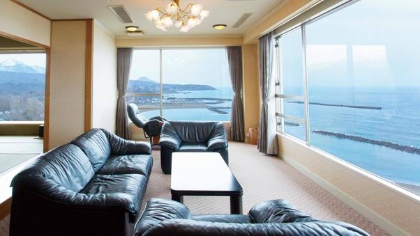 ◆特別室◆90平米(リビング+和室12.5畳+寝室)【禁煙】