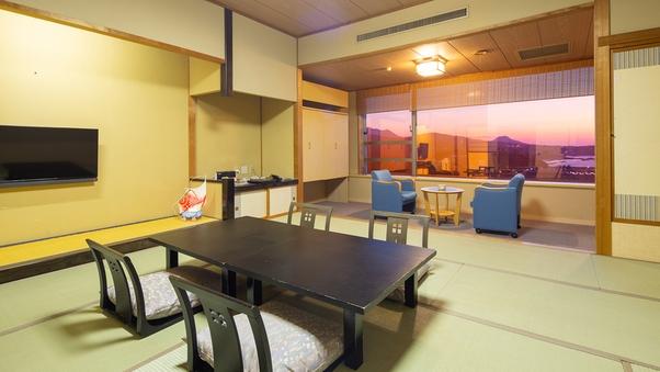◆和室スタンダード◆ 日本海を一望 くつろぎの和室【禁煙】