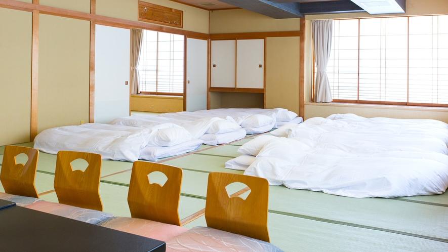 【団体和室】30畳+6畳(アウトバス)