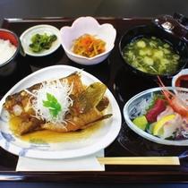 【ディナーメニュー 煮魚・お造り膳】