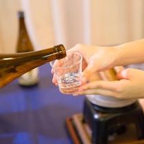 日本酒も沢山あって嬉しいね☆