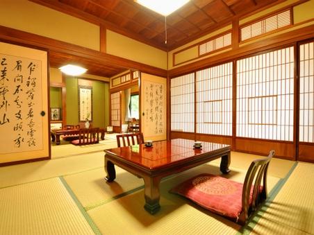 【禁煙】昭和初期の面影を残す客室◇和室16畳+洗面所・トイレ