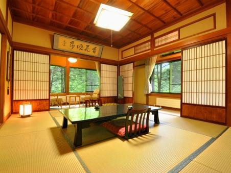 【禁煙】昭和のレトロ客室◇和室10畳+洗面所・バス・トイレ