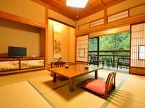 昭和初期の面影を残す客室◇和室8畳