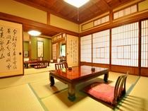 昭和初期の面影を残す客室◇和室16畳