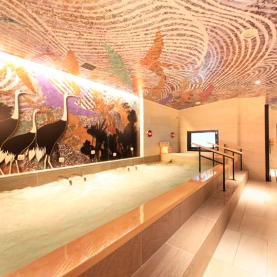 上野車站世紀SPA飯店 – 人工鐳溫泉