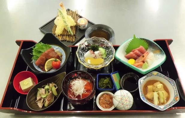 三陸の味を楽しむ夕食プラン《三陸コース+天ぷら付》