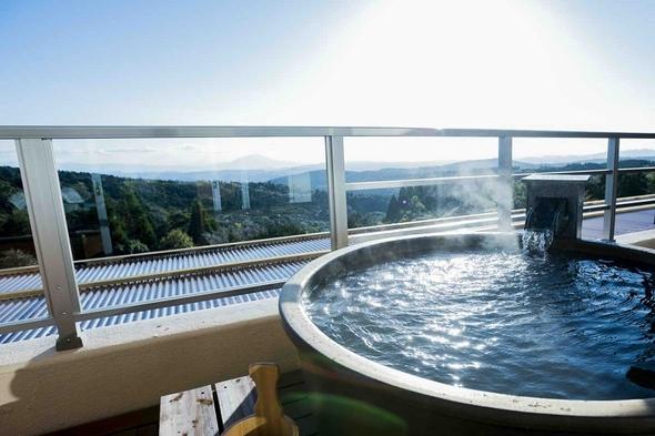 【素泊りプラン】8タイプの貸切露天風呂を利用できます♪霧島の満点の星空と自然を大満喫♪