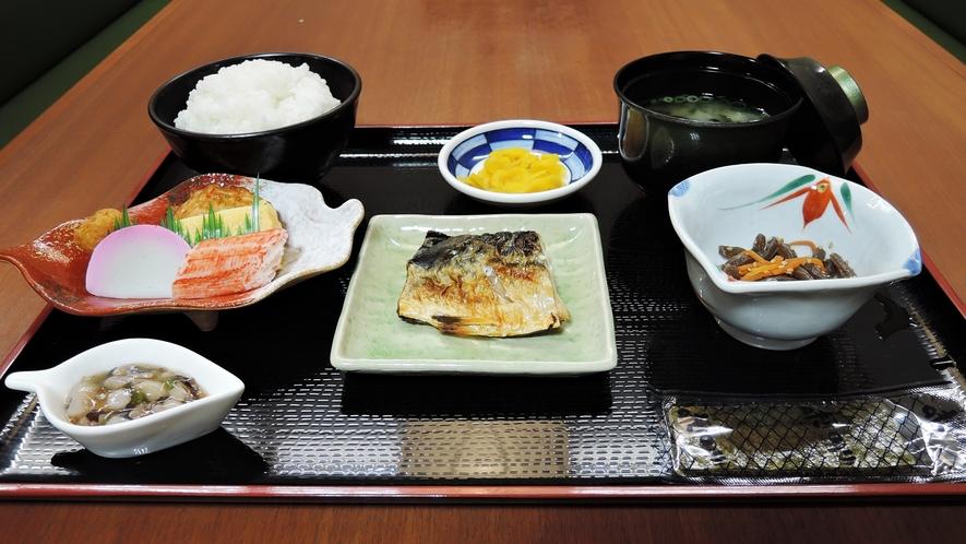 【食事】朝食一例/ほかほかの和定食をご用意致します。
