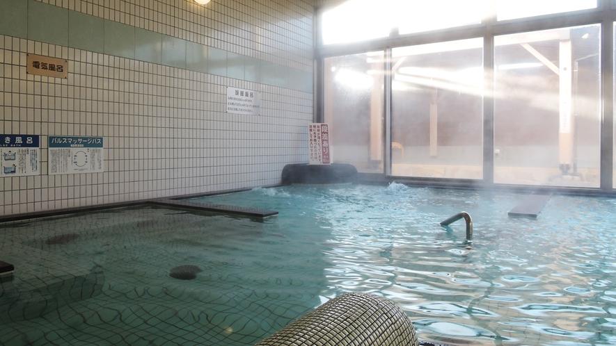 【男湯】広々とした大浴場でゆったりくつろげます♪