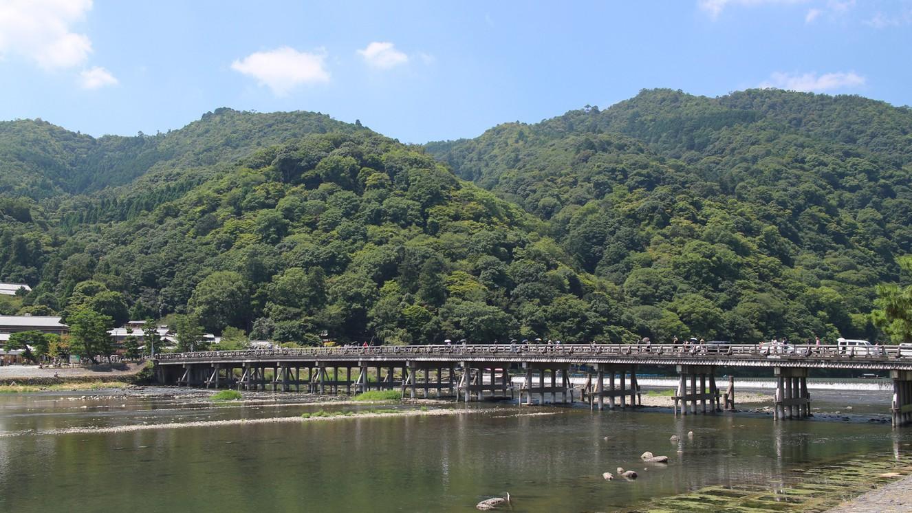 嵐山(ホテルから車で約30分)