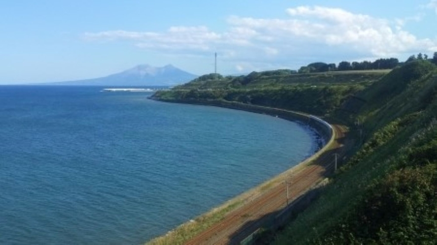 ★噴火湾と駒ヶ岳