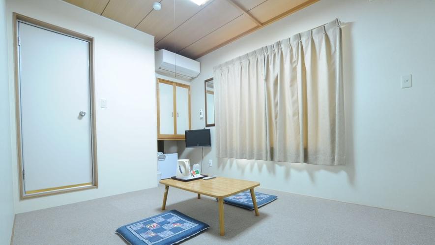 ■全室バストイレ付(カーペット)無料wi-fi完備で快適にお過ごしください。