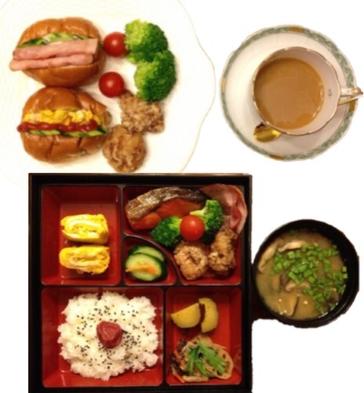 【楽天トラベルセール】朝食付プラン 栄養バランスを考えた朝食プレートを、お部屋にお届け