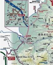 近隣サイクルロード地図