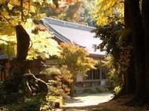 秋の長安寺