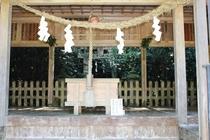 大元神社の本殿300