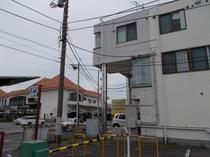 館山駅とゲストハウスポセイドン