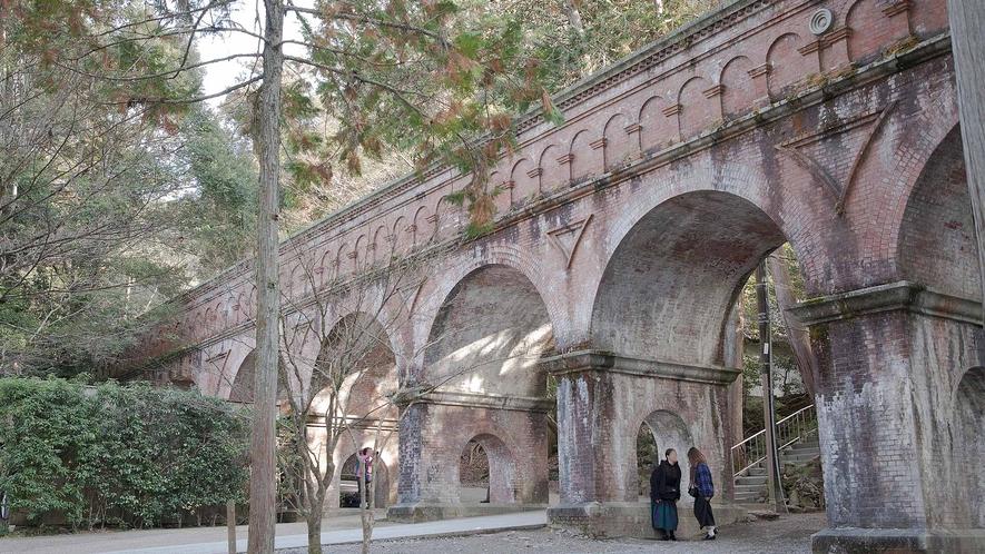 ・南禅寺:境内を走る水路橋「水路閣」