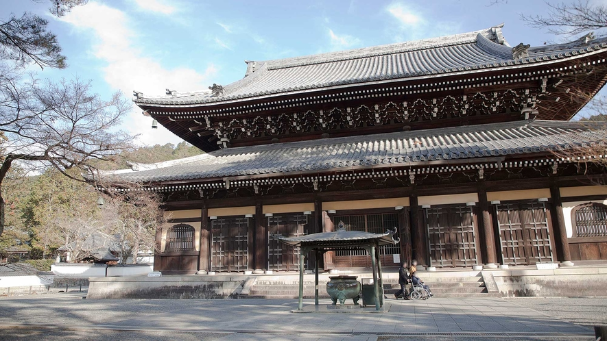 ・南禅寺:京都有数の紅葉の名所