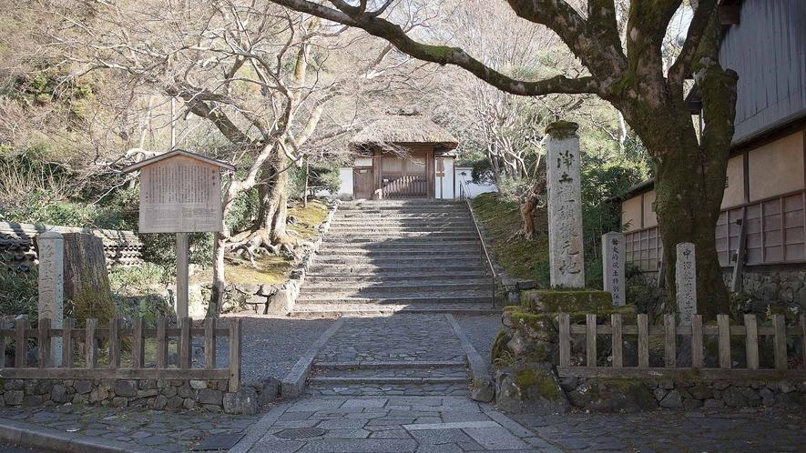 ・安楽寺:通常非公開。春の花と秋の紅葉の時期に合わせた期間と、かぼちゃ供養の日などに一般公開