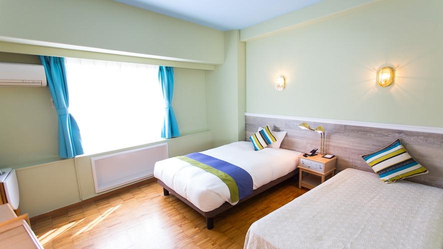 【客室イメージ】シングルベッドルーム
