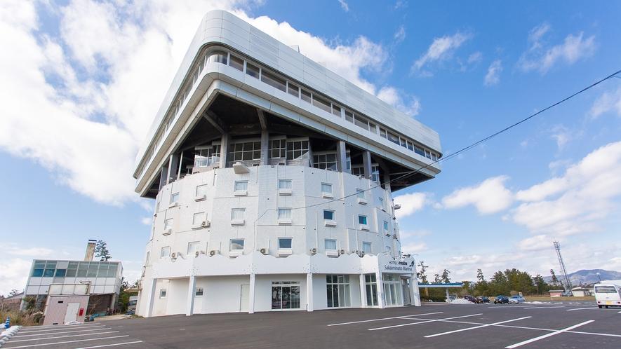 【ホテル外観】ホテルエリアワン境港マリーナへようこそ!