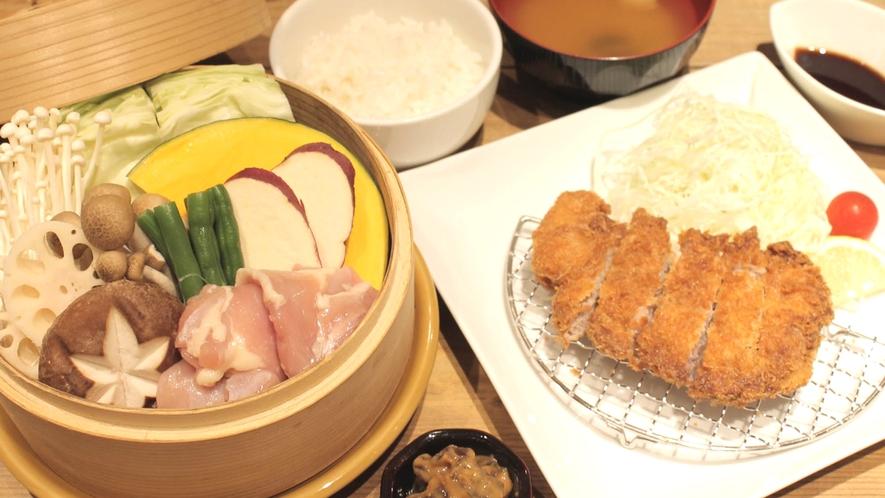 ☆県産ポークなど地元食材を使った『奈良御前』