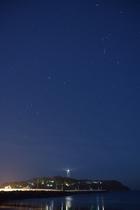 江ノ島の星空