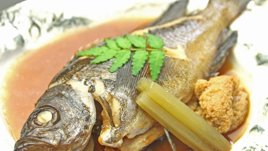 じっくり丁寧に煮込んだ 煮魚